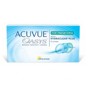 Acuvue Oasys for Presbyopia 6 Pk