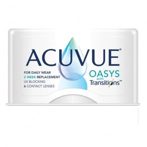 Acuvue Oasys Transitions 6 Pk